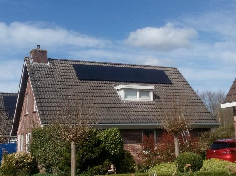 Opzienersweg haulerwijk zonnepanelen